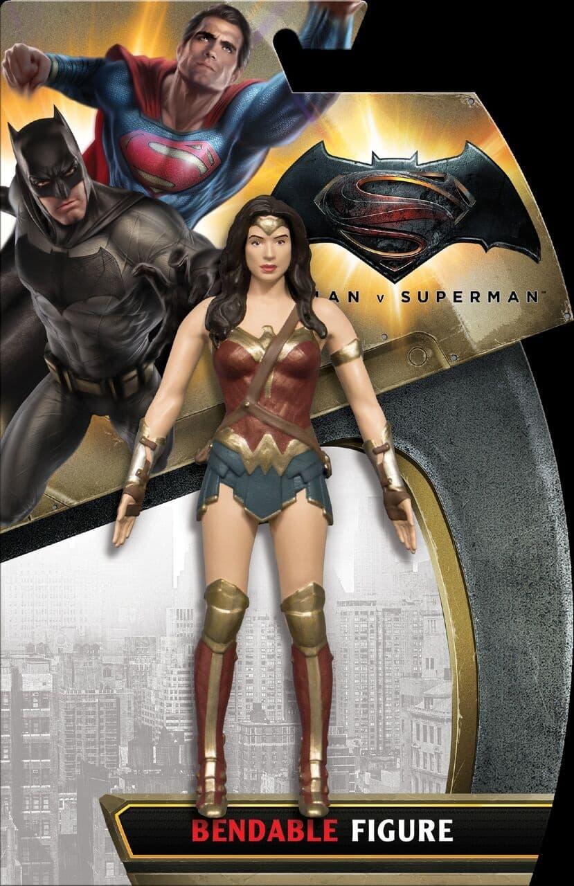 WONDER WOMAN FIGURA FLEXIBLE BATMAN V SUPERMAN UNIVERSO DC