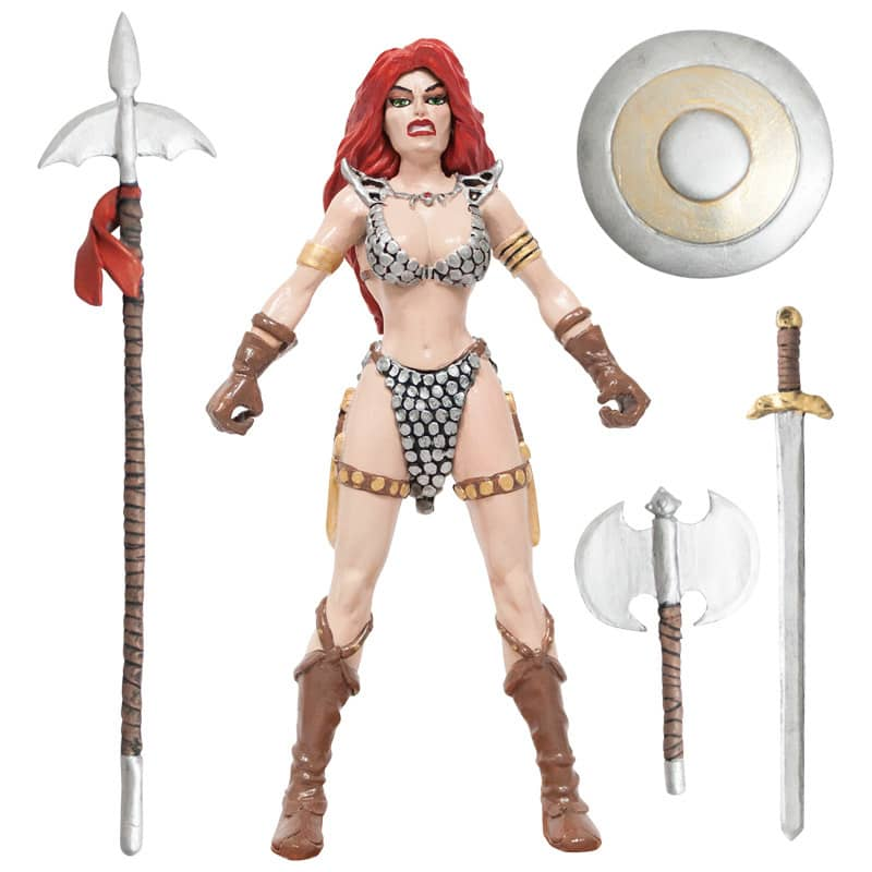 RED SONJA FIGURA FLEXIBLE 14 CM RED SONJA