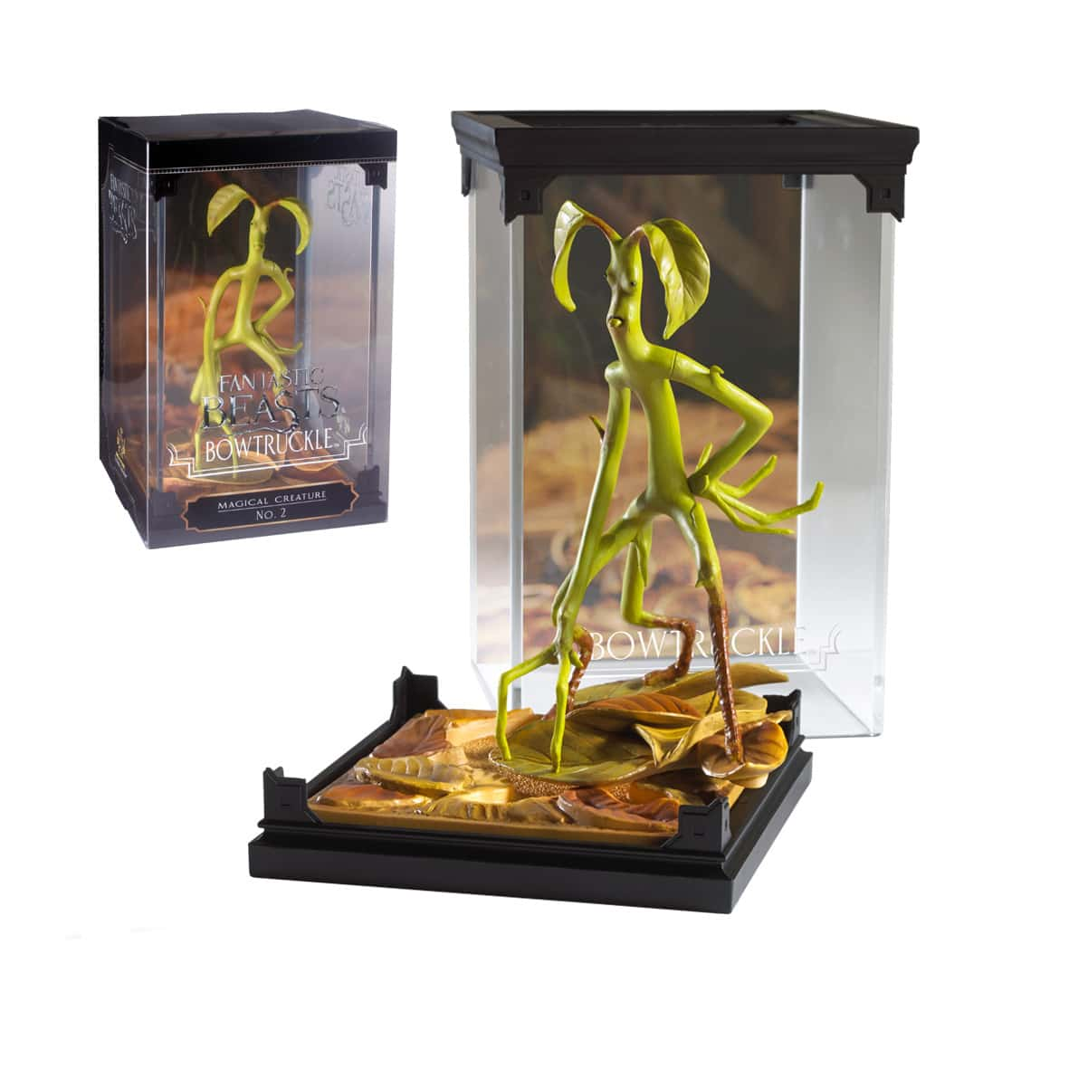 BOWTRUCKLE CRIATURA MAGICA 2 FIGURA FANTASTIC BEASTS AND WHERE TO FIND THEM
