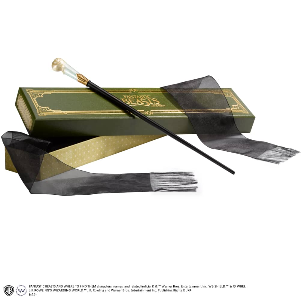 QUEENIE GOLDSTEIN VARITA REPLICA COLLECTOR BOX FANTASTIC BEAST AND WHERE TO FIND THEM