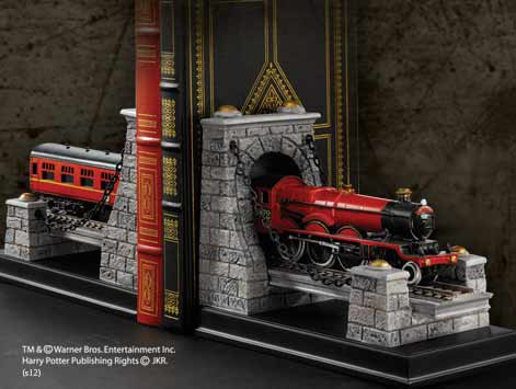HOGWART EXPRESS APOYALIBROS DOBLE FIGURA HARRY POTTER