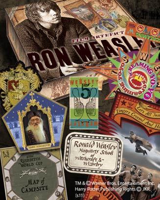 RON WEASLEY CAJA DE ARTEFACTOS, HARRY POTTER