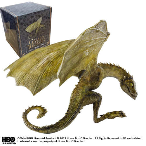 RHAEGAL CRIA DE DRAGON ESTATUA 11,50CM  GAME OF THRONES NOBLE COLLECTION