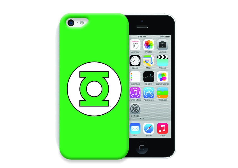 FUNDA PVC GREEN LANTERN LOGO IPHONE 4G/4S DC COMICS