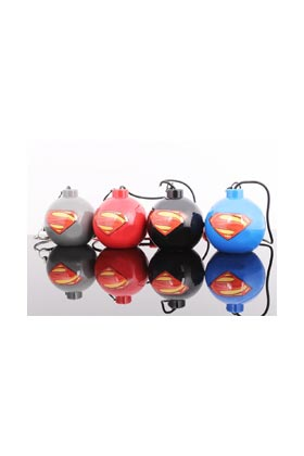SUPERMAN LOGO AZUL MINI ALTAVOZ BOMBA MAN OF STEEL
