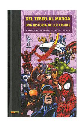 DEL TEBEO AL MANGA 04. UNA HISTORIA DE LOS COMICS