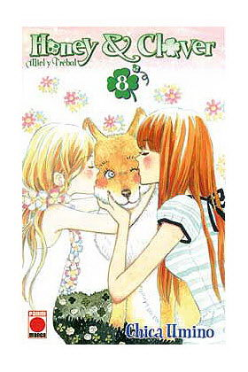 HONEY AND CLOVER 08 (COMIC)