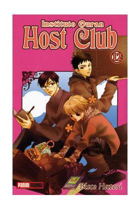 INSTITUTO OURAN HOST CLUB 12 (COMIC MANGA)