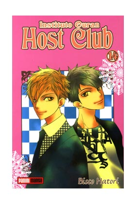 INSTITUTO OURAN HOST CLUB 14 (COMIC MANGA)