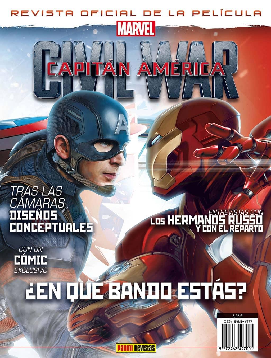CIVIL WAR CAPITAN AMERICA 01 (REVISTA OFICIAL DE LA PELICULA)