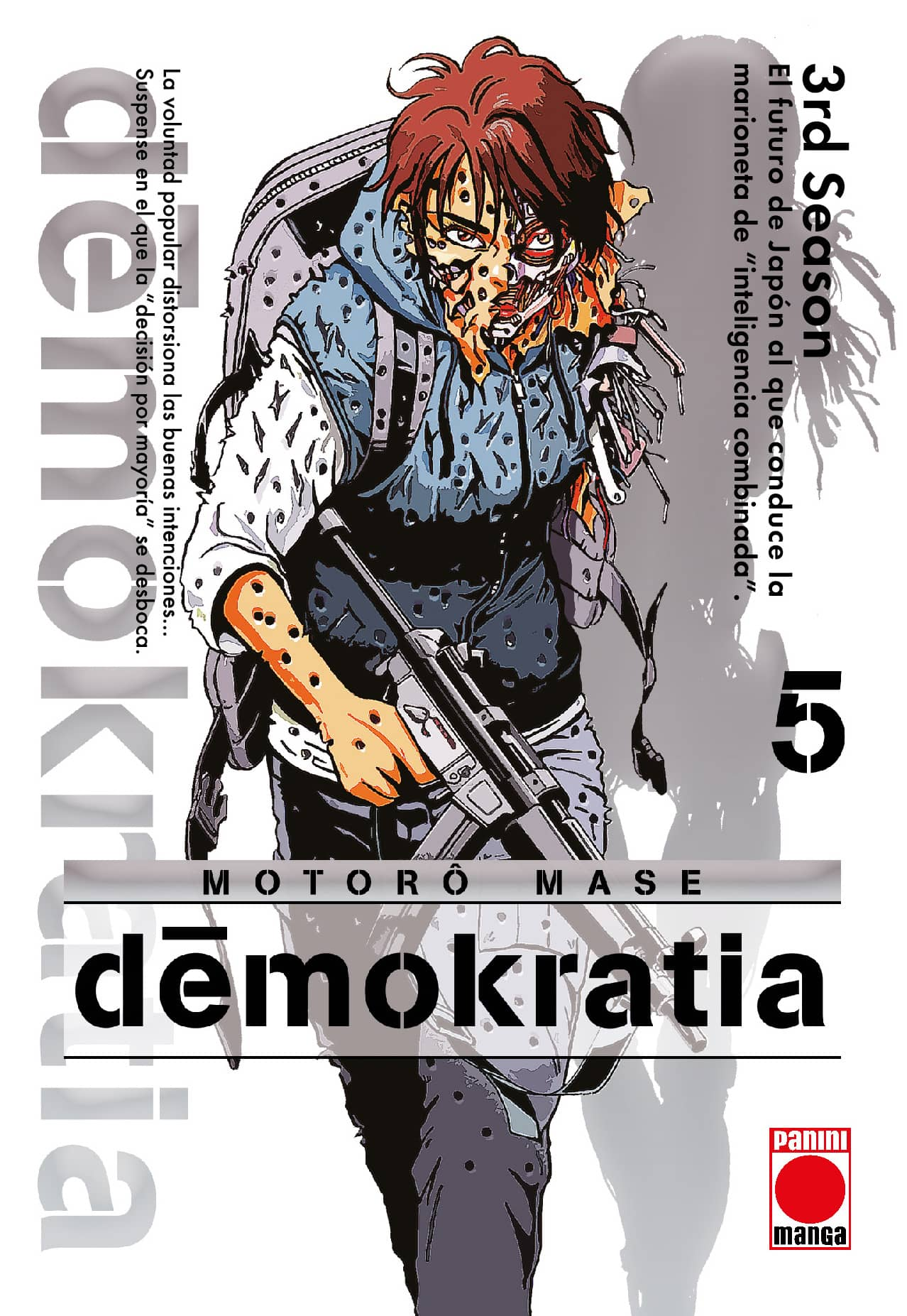 DEMOKRATIA  05 (COMIC)