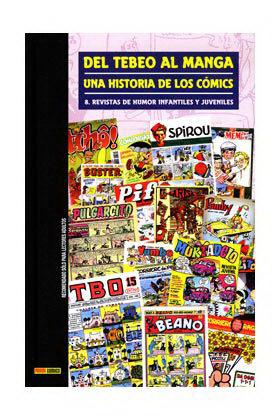DEL TEBEO AL MANGA 08. UNA HISTORIA DE LOS COMICS