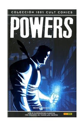 POWERS: LOS 25 SUPERHEROES MUERTOS MAS MOLONES ...(CULT COMICS)