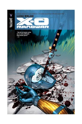 X-O MANOWAR 02. LLEGA NINJAK