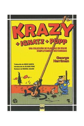 KRAZY + IGNATZ + PUPP. UNA KOLECCION DE PLANCHAS EN KOLOR COMPLETAMENTE RESTAURA