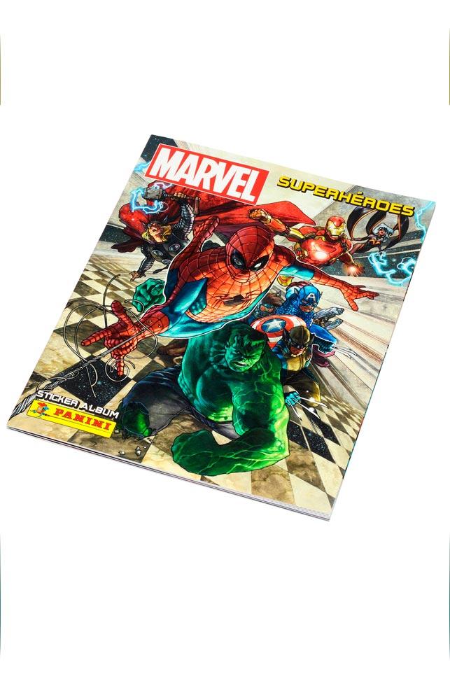 ALBUM DE CROMOS MARVEL SUPER HEROES (STICKER ALBUM)