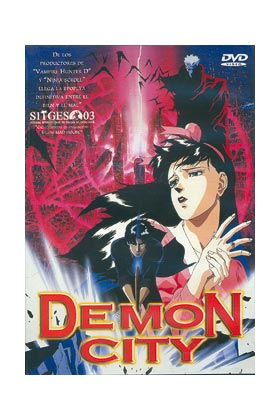 DEMON CITY DVD