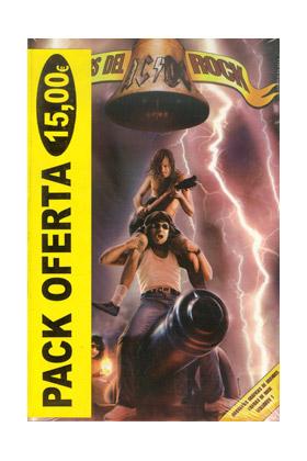 PACK MITOS DEL ROCK (MOTLEY CRUE- AC/DC - INNER CIRCLE)