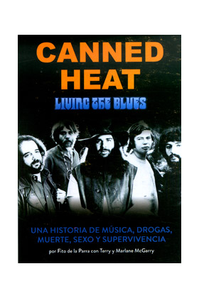 CANNED HEAT. LIVING THE BLUES