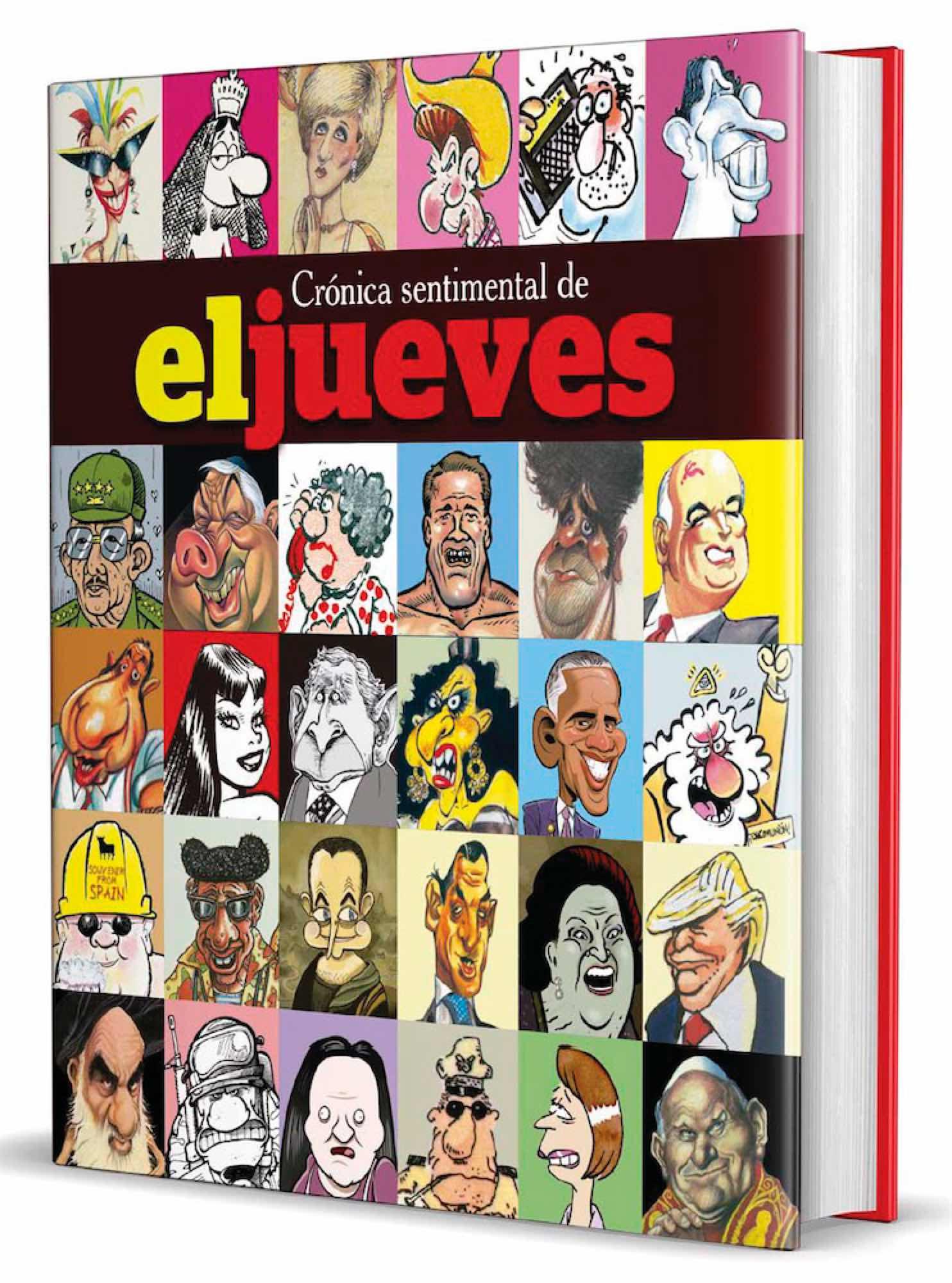 EL JUEVES.CRONICA SENTIMENTAL DE ESPAÑA