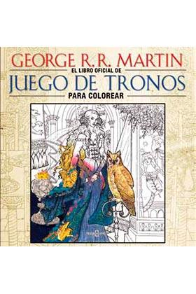 """EL LIBRO OFICIAL DE """"JUEGO DE TRONOS"""" PARA COLOREAR"""