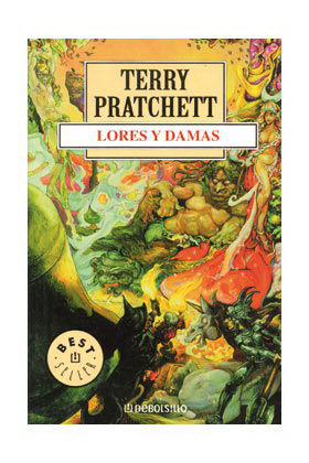 LORES Y DAMAS (TERRY PRATCHETT) MUNDODISCO 14