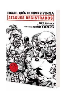 ZOMBI- GUIA DE SUPERVIVENCIA. ATAQUES REGISTRADOS (COMIC)