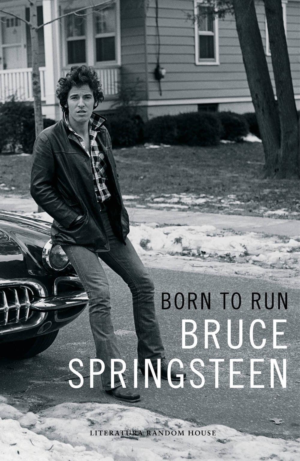 BORN TO RUN. BRUCE SPRINGSTEEN