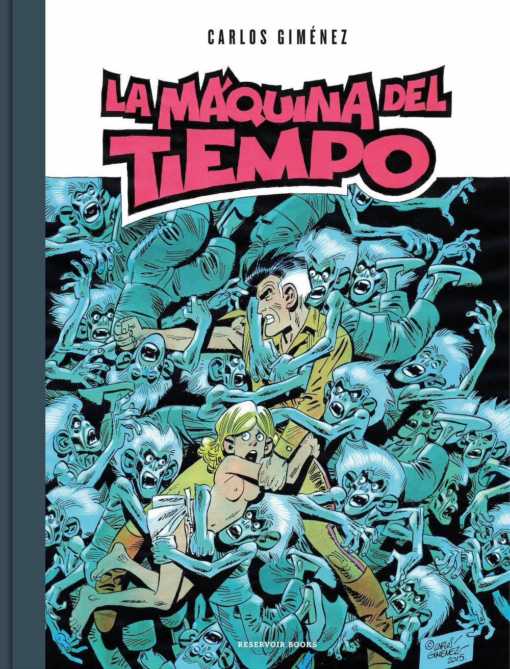 LA MAQUINA DEL TIEMPO (COMIC)