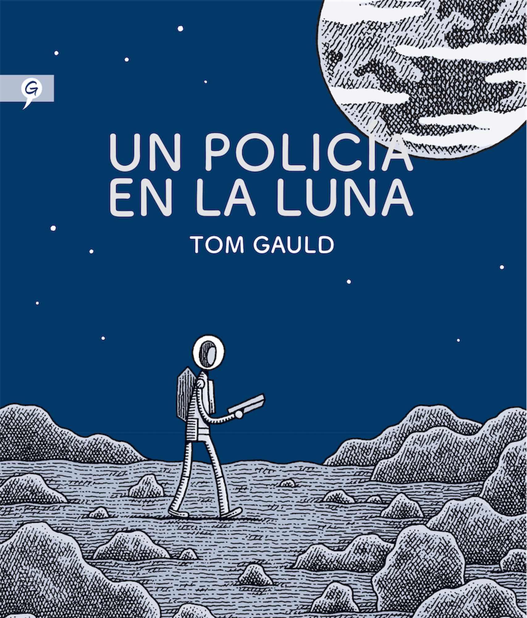 UN POLICIA EN LA LUNA