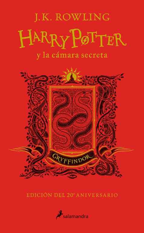 HARRY POTTER Y LA CAMARA SECRETA. EDICION GRYFFINDOR
