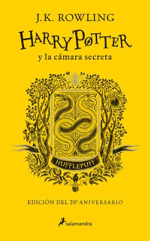 HARRY POTTER Y LA CAMARA SECRETA. EDICION HUFFLEPUFF
