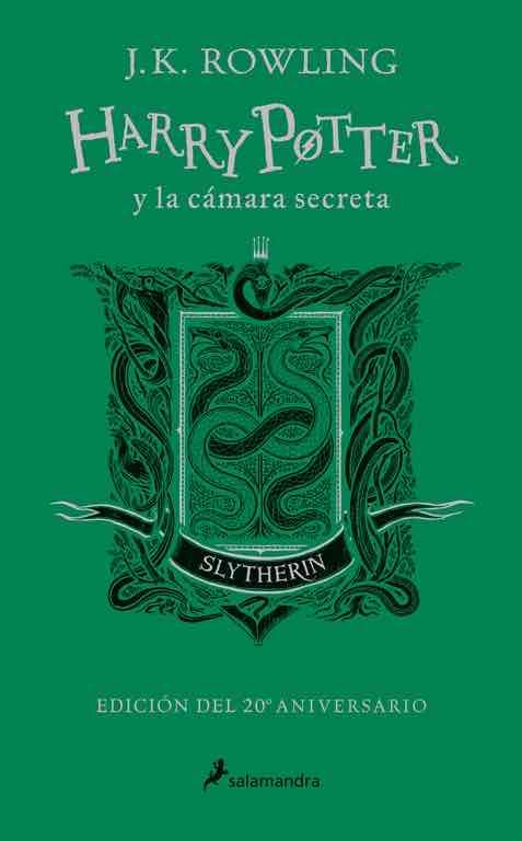 HARRY POTTER Y LA CAMARA SECRETA. EDICION SLYTHERIN