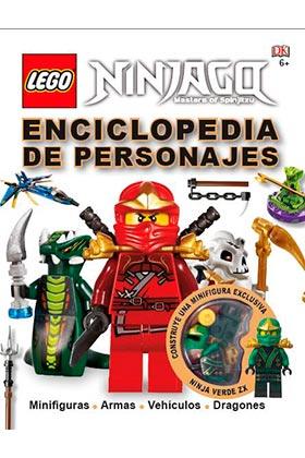 LEGO NINJAGO. ENCICLOPEDIA DE PERSONAJES