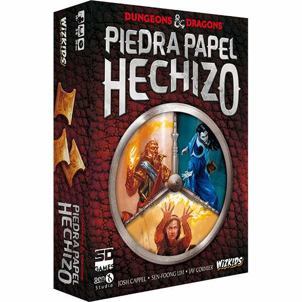 DUNGEONS AND DRAGONS. PIEDRA PAPEL HECHIZO