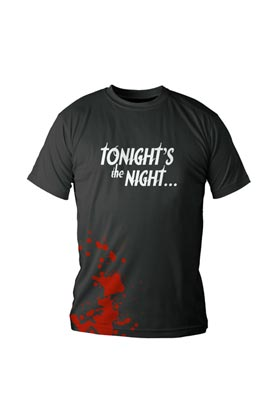 TONIGHT'S THE NIGHT CAMISETA NEGRA CHICO T-XXL DEXTER