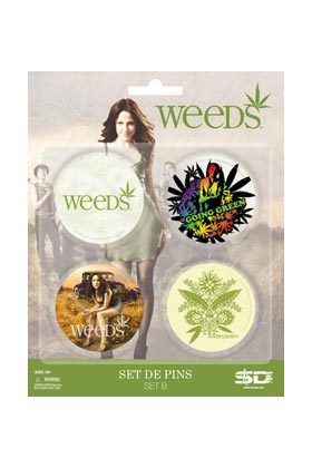 WEEDS SET B DE 4 PINS WEEDS