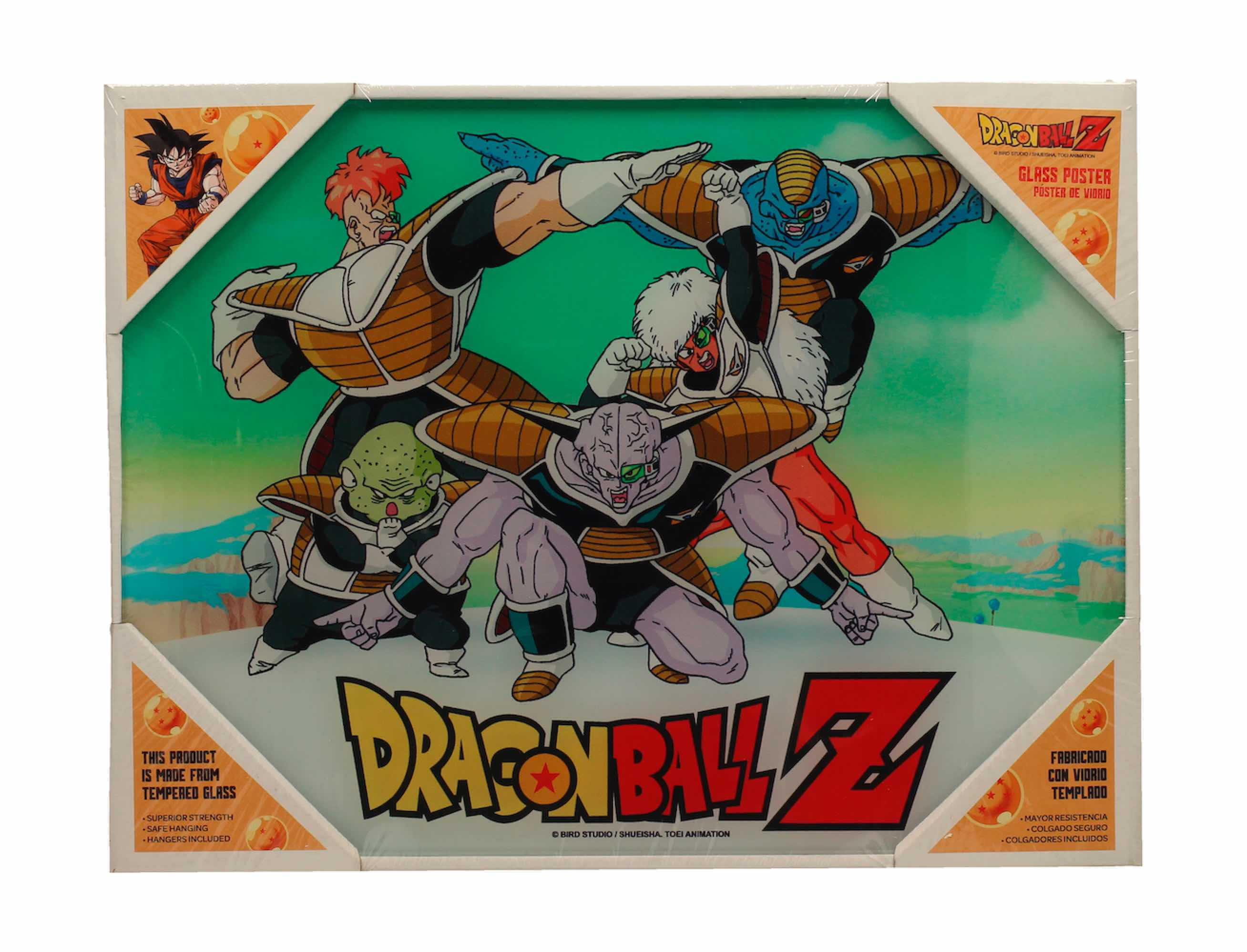 POSTER DE VIDRIO FUERZAS ESPECIALES 40X30 DRAGON BALL