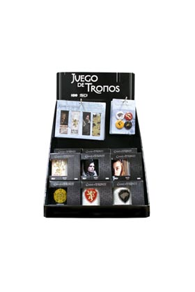 JUEGO DE TRONOS EXPOSITOR MIXTO TAZS PIN PLM GAME OF THRONES
