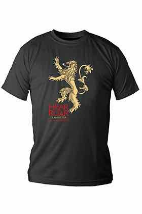 LANNISTER CAMISETA NEGRA CHICO T-XXL GAME OF THRONES