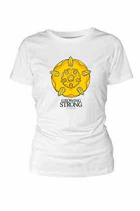 TYRELL CAMISETA BLANCA CHICA T-S GAME OF THRONES