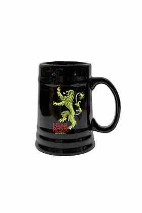 LANNISTER JARRA CERAMICA NEGRA GAME OF THRONES
