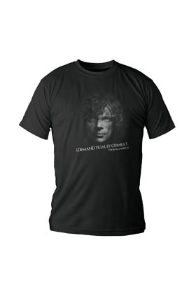 TYRION LANNISTER CAMISETA NEGRA CHICO T-S GAME OF THRONES