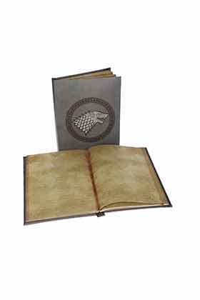 STARK LIBRETA CON LUZ GAME OF THRONES