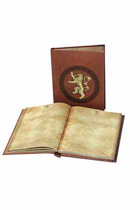 LANNISTER LIBRETA CON LUZ GAME OF THRONES