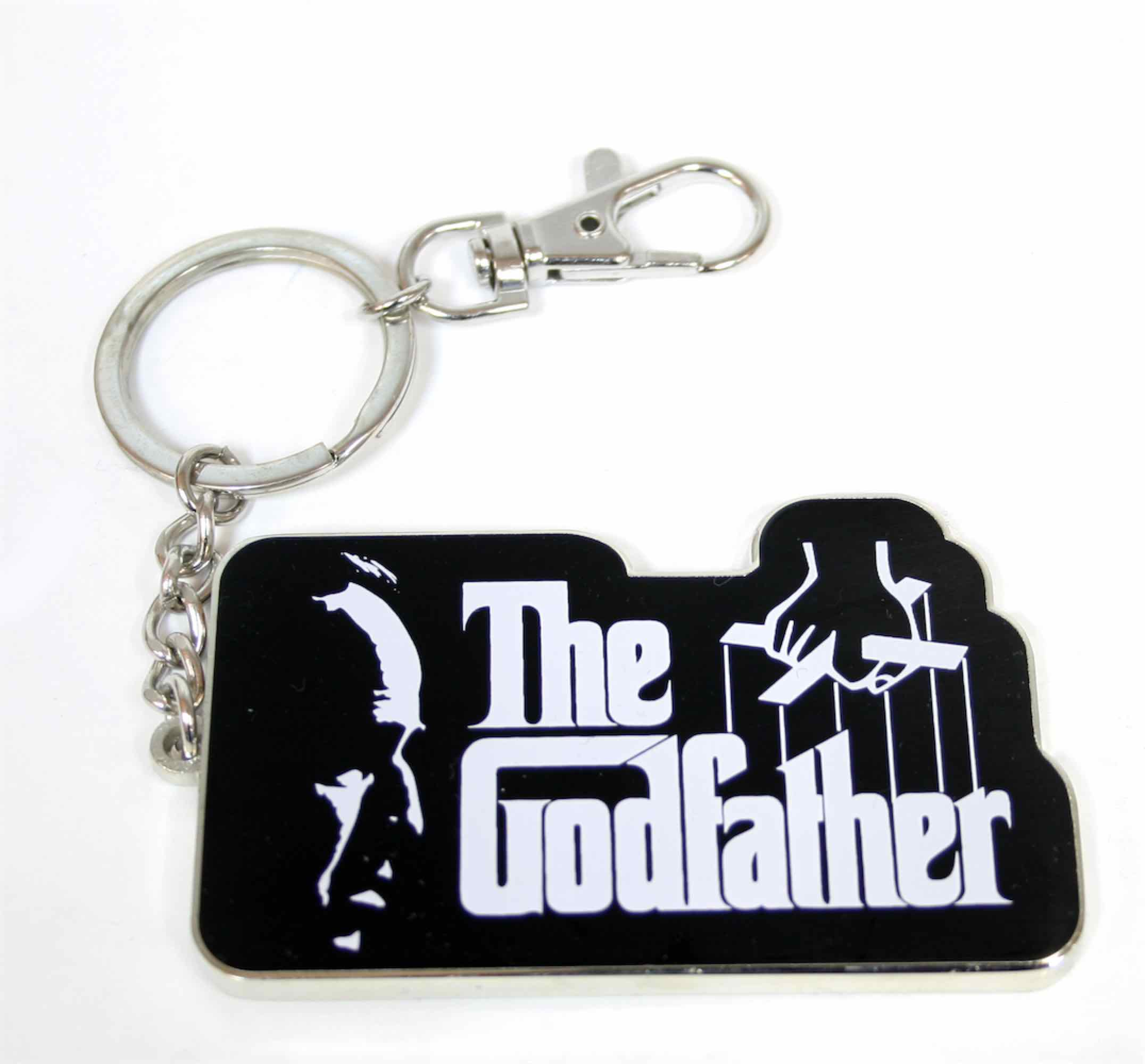 LOGO THE GODFATHER LLAVERO MOSQUETON THE GODFATHER