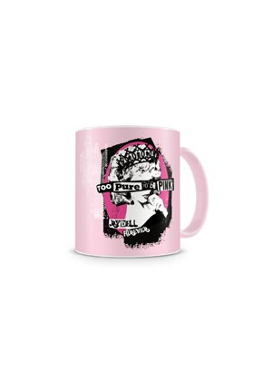 TOO PURE TO BE PINK TAZA ROSA CERAMICA GREASE