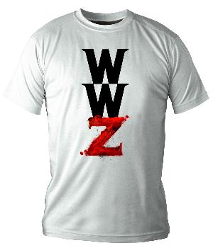 LOGO WORLD WAR Z CAMISETA BLANCA CHICO T-S WORLD WAR Z