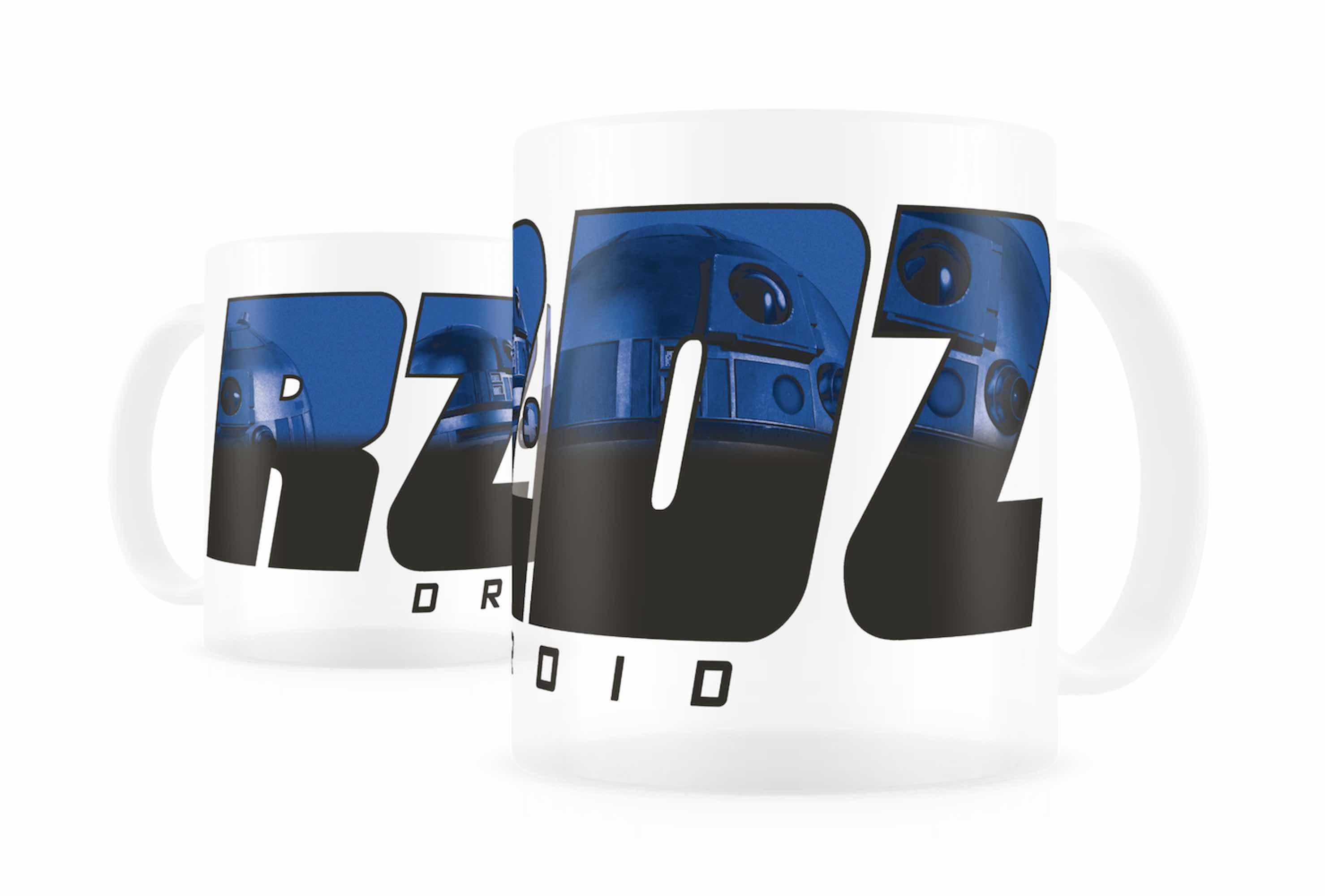 R2-D2 TAZA TERMICA TRANSPARENTE STAR WARS
