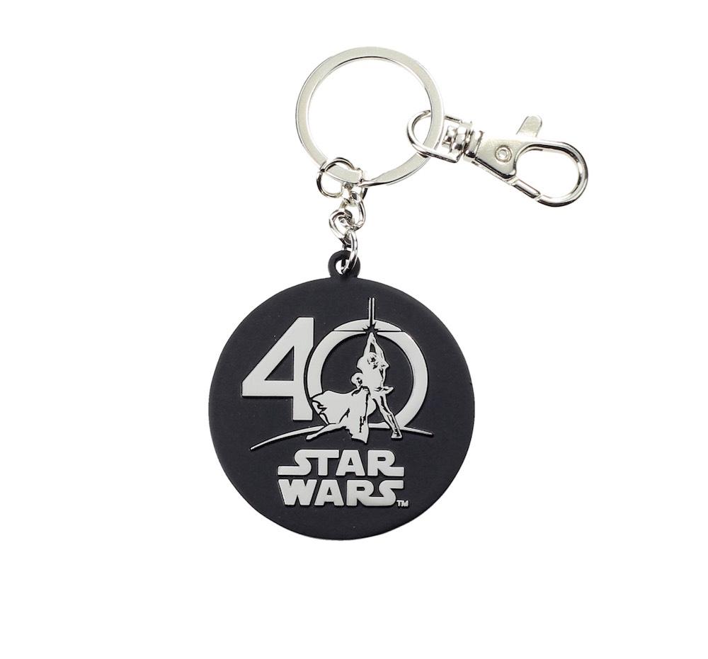 LOGO 40 ANIVERSARIO LLAVERO METAL STAR WARS